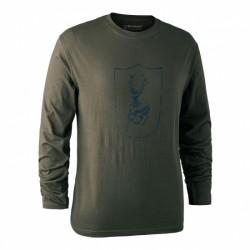T-shirt DEERUNTHER Manica...